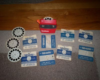 view master and 12 slides