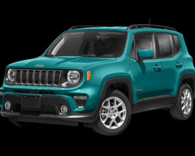 New 2021 Jeep Renegade Latitude With Navigation & 4WD