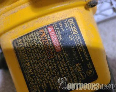 FS DeWALT 18 Volt XRP Tool Set; Drill, Jig, Circular, flashlight, batteries and chargers