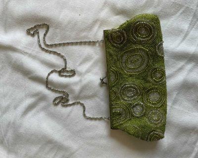 Decorative purse - cross body or clutch