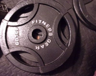 Fitness Gear Olympic Weight Plates