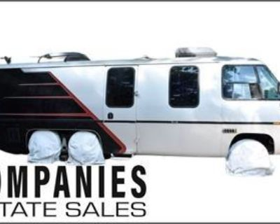 Companies Estate Sales Presents: Riverdale Single Owner Sale: GMC Camper Van Far-Infrared Sauna Tool