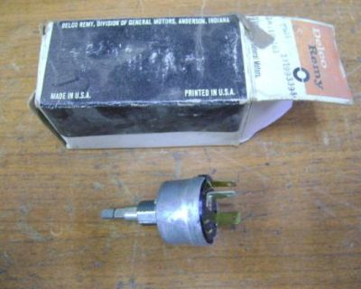 1967 Chevrolet Nos Delco Remy Wiper Switch 1993394