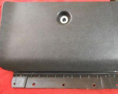 1970 70 1971 71 1972 72 Gto Lemans Tempest T-37 Original Glove Box Door Black