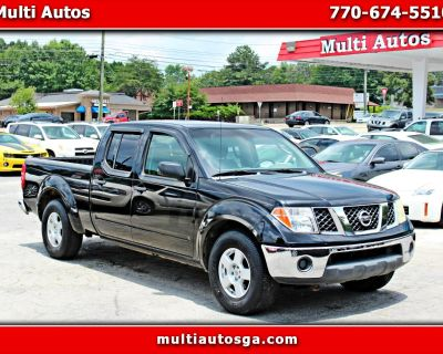 Used 2007 Nissan Frontier LE Crew Cab Long Bed 2WD