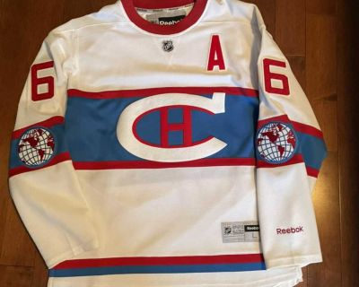 Montreal Canadiens Subban Winter Classic Jersey L
