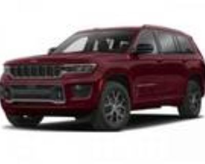 2021 Jeep grand cherokee Red, new