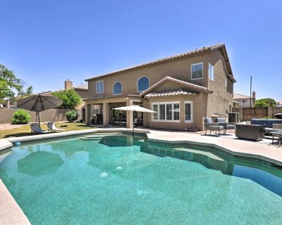 NEW! Airy Arizona Oasis w/ Fire Pit, Grill & Games - Gilbert