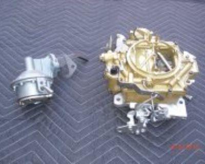 1964 Cadillac rebuilt carburetor and new fuel pump