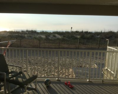 1st Floor On the Beach: 4 Steps and toes in the sand... - Midtown Ocean City