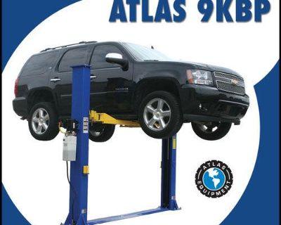 Atlas 2 Post Auto Lift 9,000 Lb. Capacity Car Vehicle Truck Lift Baseplate New