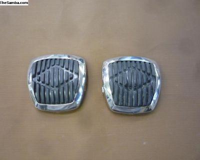 Larger aftermarket pedal pads
