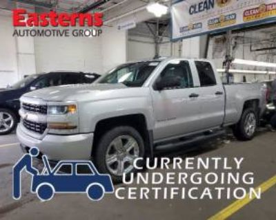 2017 Chevrolet Silverado 1500 Custom Double Cab Standard Box 4WD