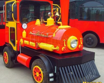 DEMO 8' Vintage Style Locomotive Battery Powered Train Engine People Mover