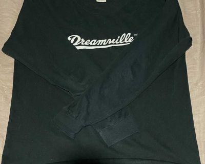 Dreamville J Cole Black Long Sleeve Tee Shirt