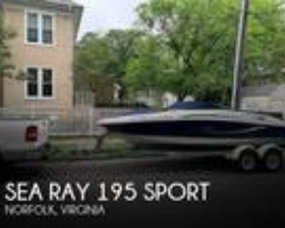 19 foot Sea Ray 195 Sport