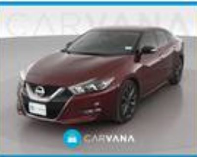 2017 Nissan Maxima Red, 15K miles
