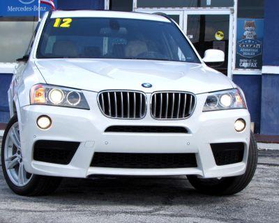 2012 BMW X3 AWD 4dr 35i
