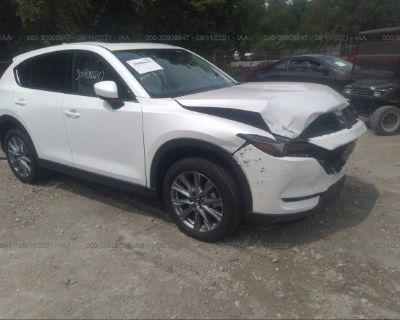Salvage White 2021 Mazda Cx-5
