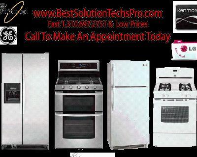 Discount Commercial Appliance Repair Compressor Freon r404 r502 r134a r12 recharge repair 3106972751