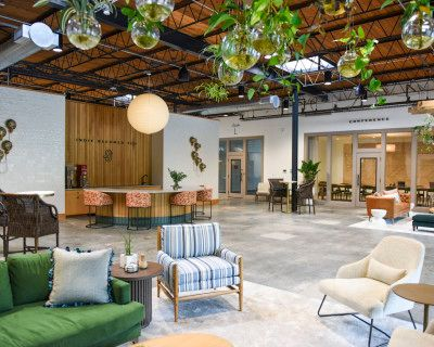 Former Mid-Century Warehouse Turned Cultural Space for Events, Atlanta, GA