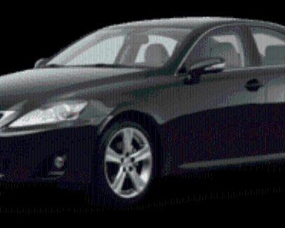 2012 Lexus IS IS 250
