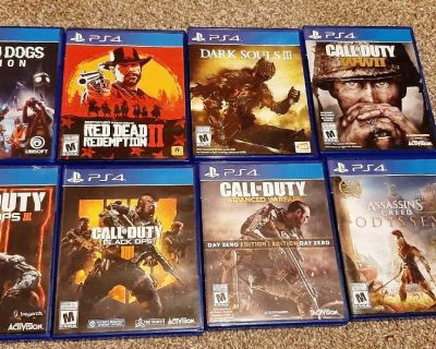 Ps4 Games (Various Prices)