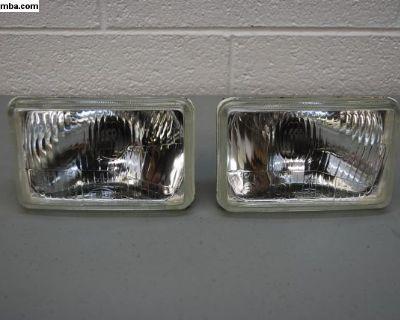 """H4 Headlights for Scirocco/Jetta 4""""x6"""""""