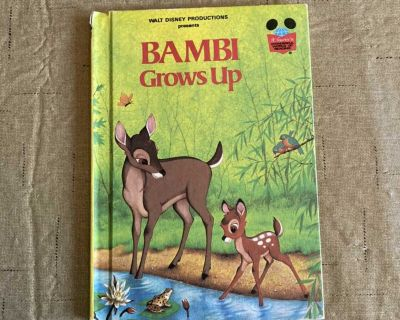 Bambi Grows Up Vintage Disney Children s Book