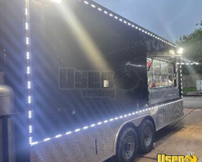 2017 6' x 22' Mobile Food Concession Trailer with Complete Fire System