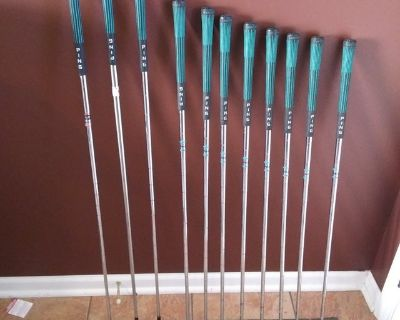 Ping Eye2 Blue Dot LH Irons and Misc Woods