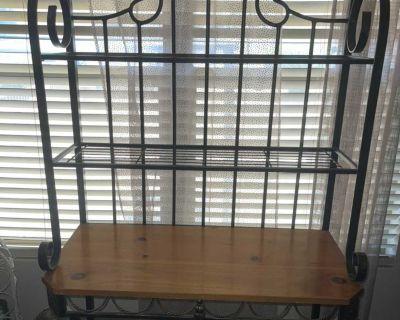 Kitchen metal rack