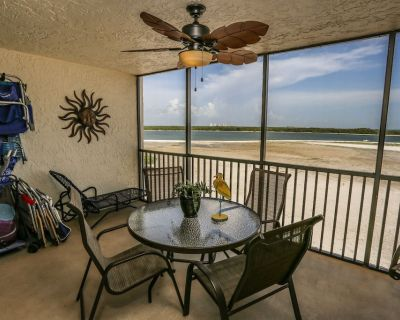 Welcome to Carlos Pointe 431. This fully furnished fourth floor, two bedroom, two full bathroom, beachfront condo will take your breath away. - South Island