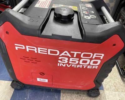 PREDATOR - 3500 Watt Super Quiet Inverter Generator