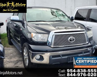 Used 2011 Toyota Tundra 4WD Truck Limited