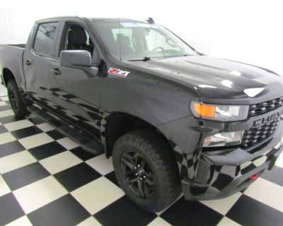 Pre-Owned 2021 Chevrolet Silverado 1500 Custom Trail Boss 4WD Pickup