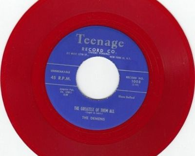 DEMENS ~ The Greatest Of Them All*Mint-*45*RARE RED WAX !