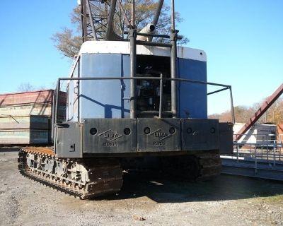 1968 Lima Crawler Crane
