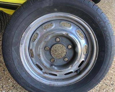 Steel wheel 4.5x15