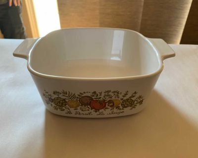 Corningware collectible 7 x 7 approx