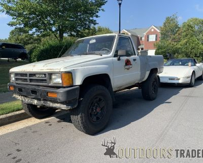 FT 1988 Toyota truck and 1982 GL1100