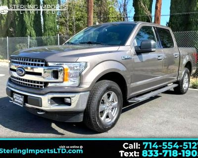 Used 2018 Ford F-150 XLT SuperCrew 5.5-ft. Bed 4WD