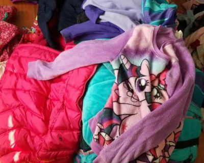 Giant lot of size large/10-13 girls clothes
