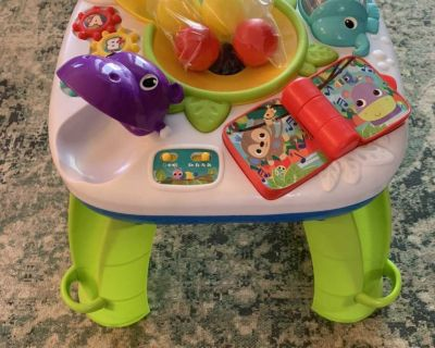 Bright Starts Activity Table with balls