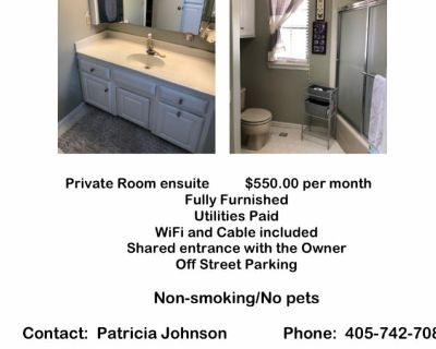 Private room with ensuite - Oklahoma City , OK 73120