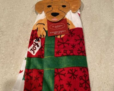 Christmas kitchen towels(2)