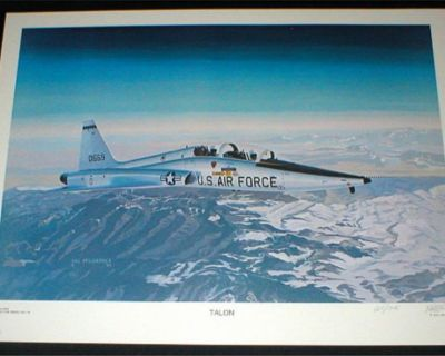 "US Air Force Plane Art Print - ""TALON"" - Signed & Numbered by Hal McCormick"