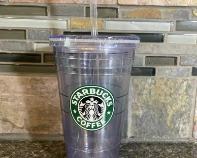 Starbucks double wall plastic cup