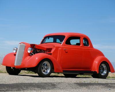 1936 Plymouth 5 Window 5-Window Coupe Engine Swap