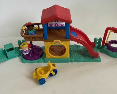 Little People Fun Sounds Playground Playset - Vintage-ish 2003
